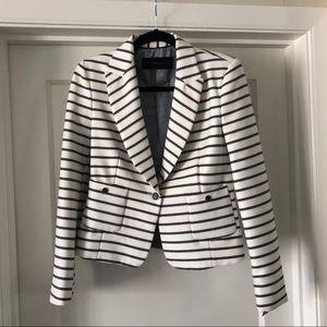 Zara Striped Blazer - M